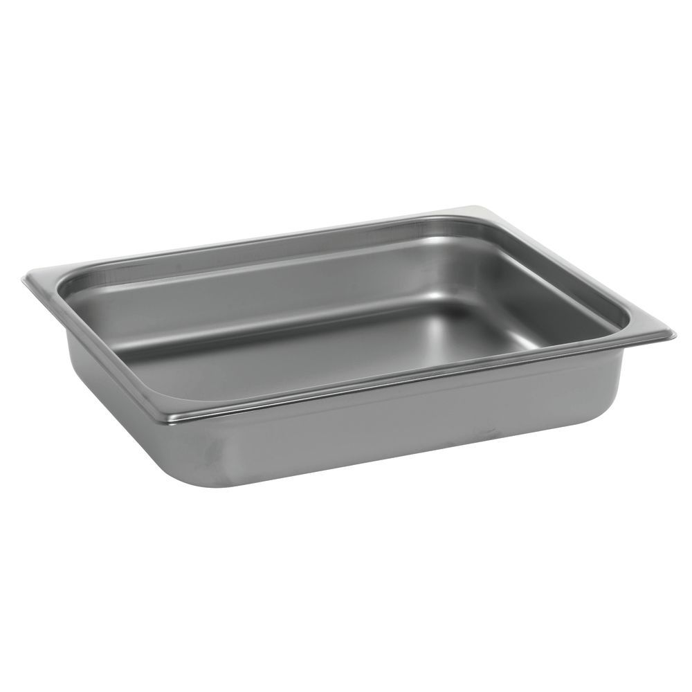 HUBERT 1/2 Size 22 Gauge Stainless Steel Steam Table Pan - 2 1/2D