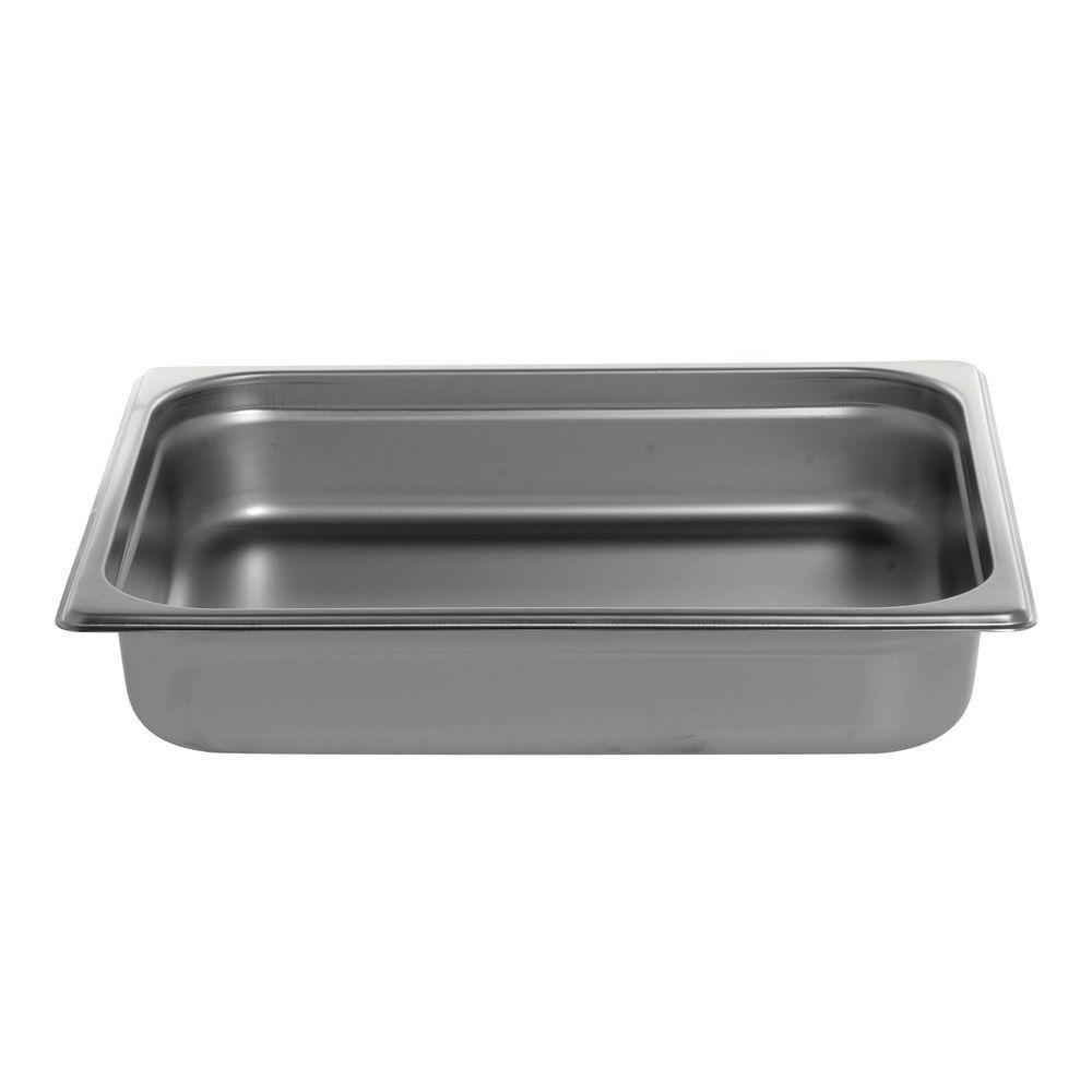"Hubert Stainless Steel Steam Pan 1/2 Size 2 1/2""D"