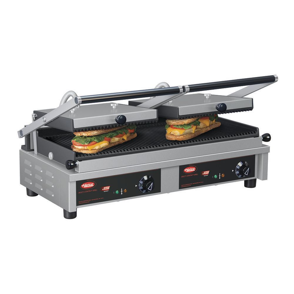 GRILL, PANINI, MULTI CONTACT, DOUBLE, 208V
