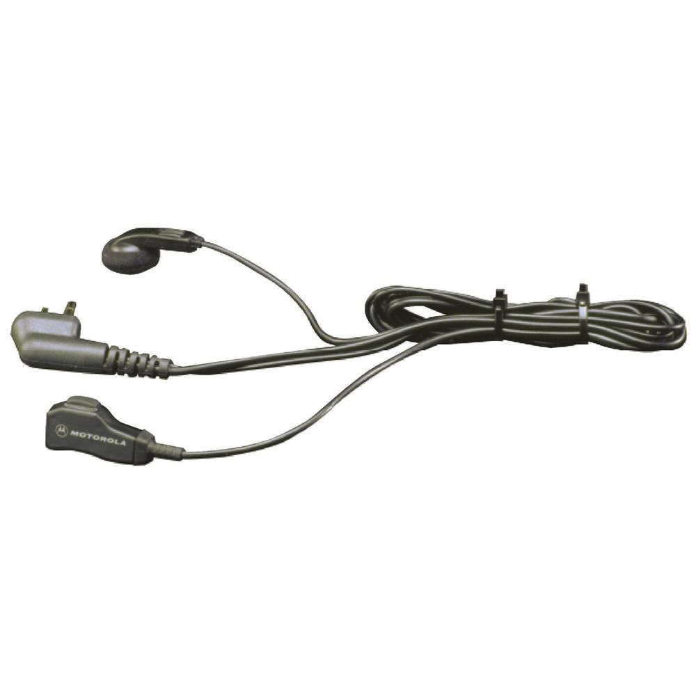 Motorola Earbud with Lapel Clip-On Microphone