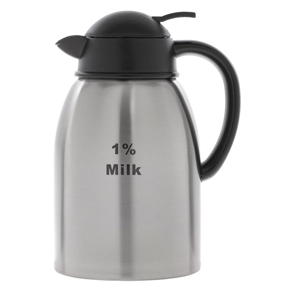 DECANTER, 1.9L, STAINLESS, 1% MILK