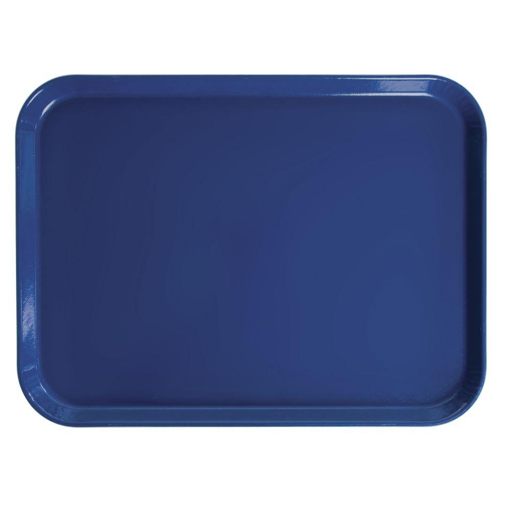 "Cambro Rectangular Camtray Amazon Blue Tray Fiberglass 20""L x 15""W"