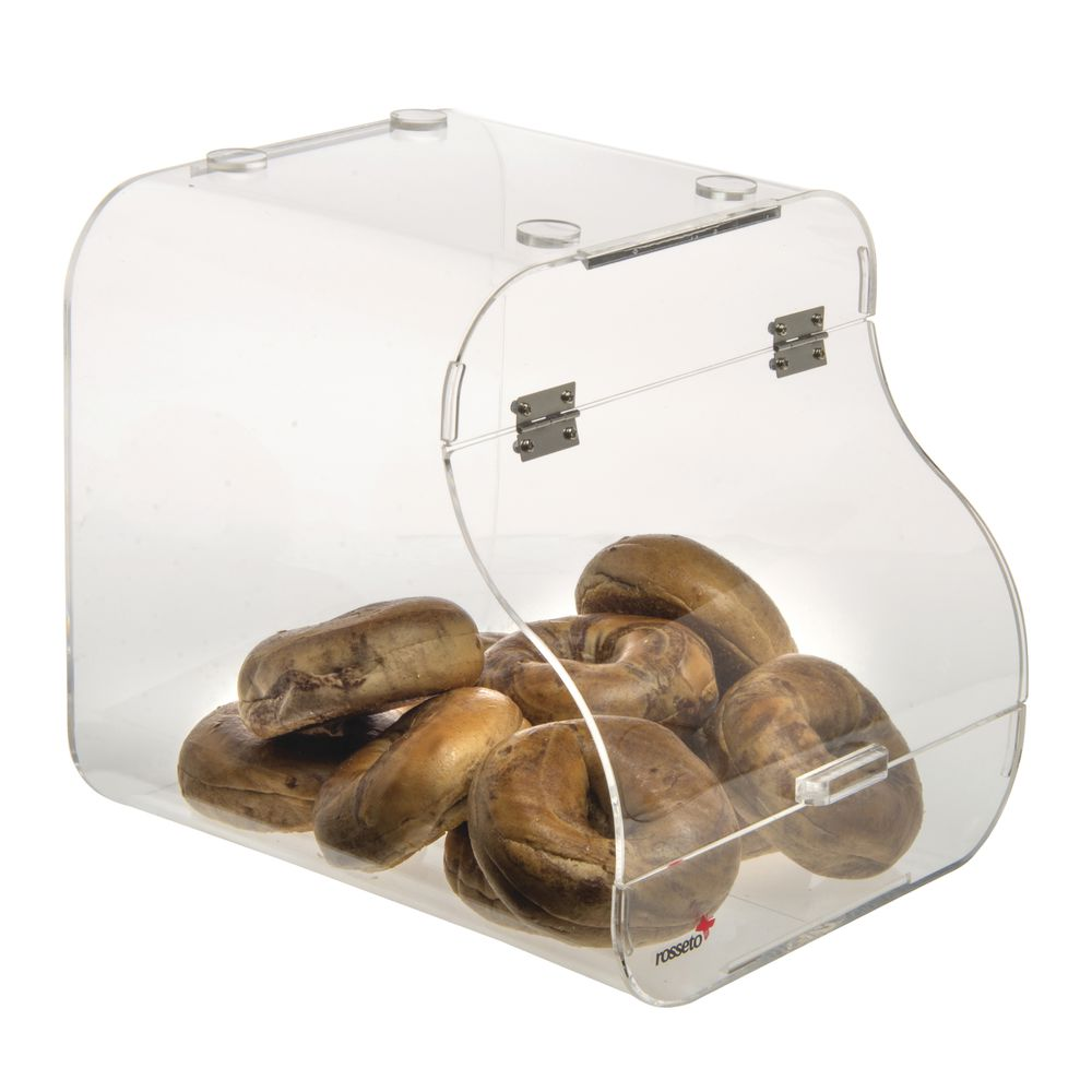 BIN, BAKERY, SINGLE STACKABLE, ACRYLIC