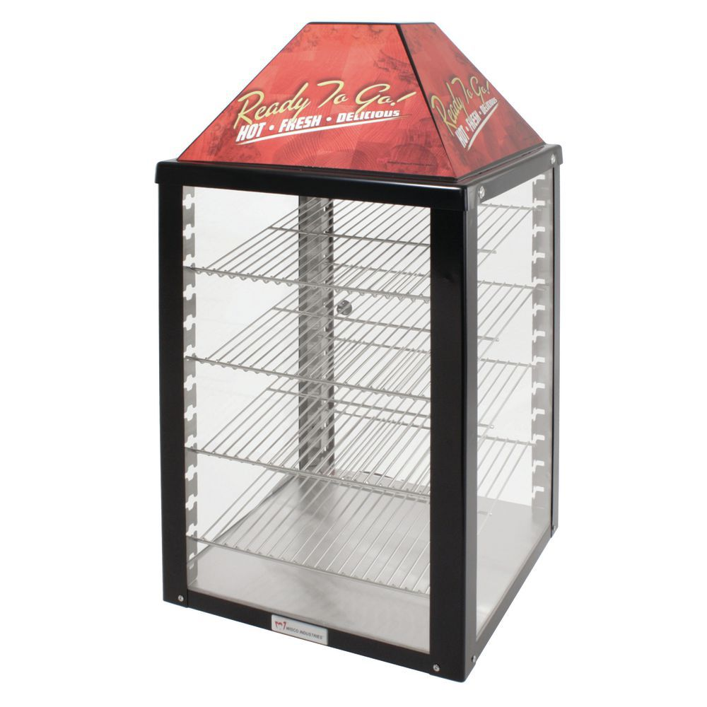 WARMER DISPLAY, 4-SHELF, 1 DOOR