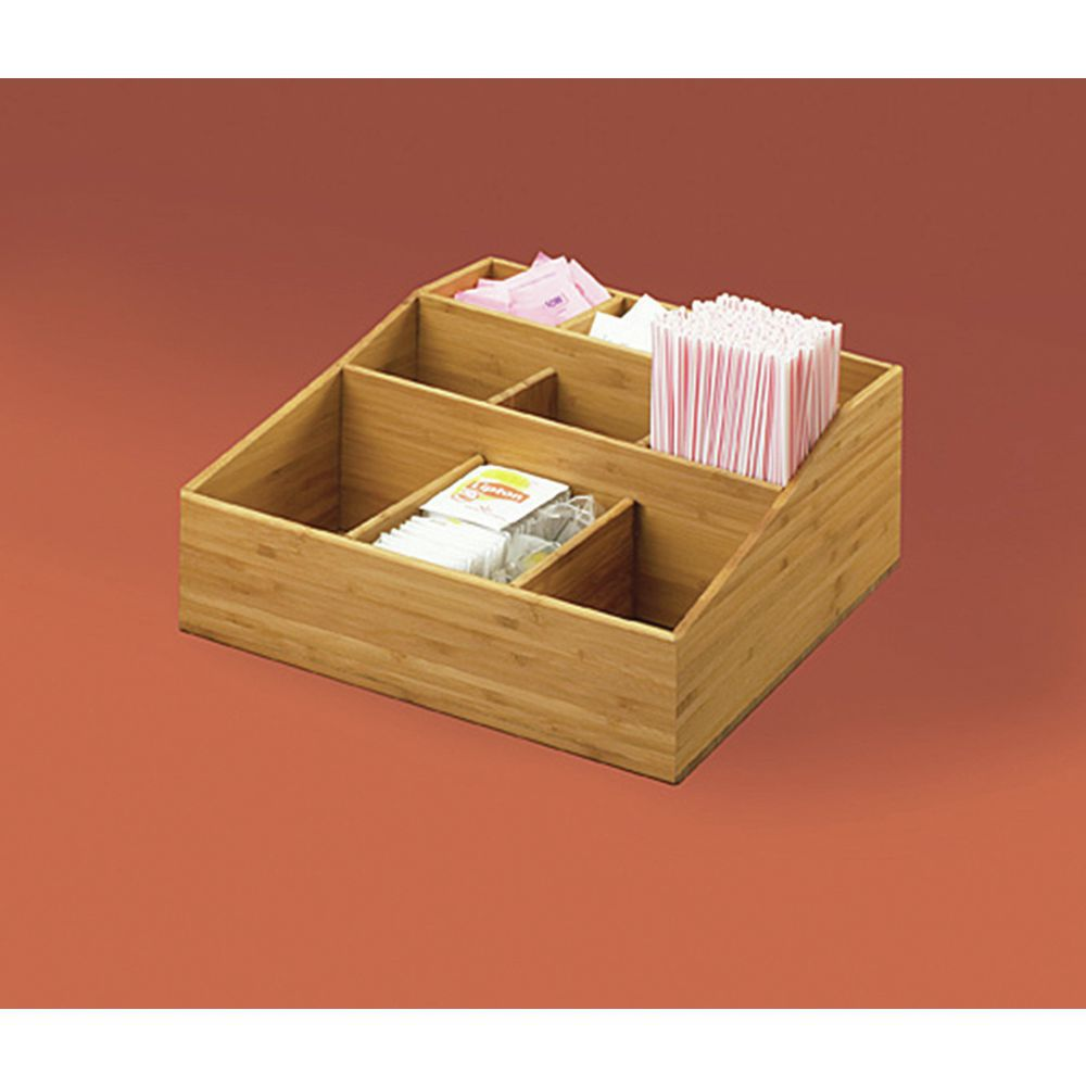 Condiment Holder with 9 Divided Compartments