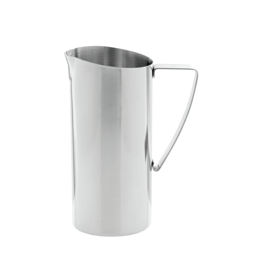PITCHER, WATER, POLISHED S/S, NO ICE GUARD