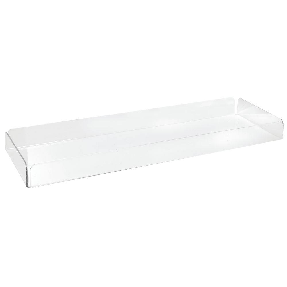 Acrylic Display Tray 24 x 8 Clear