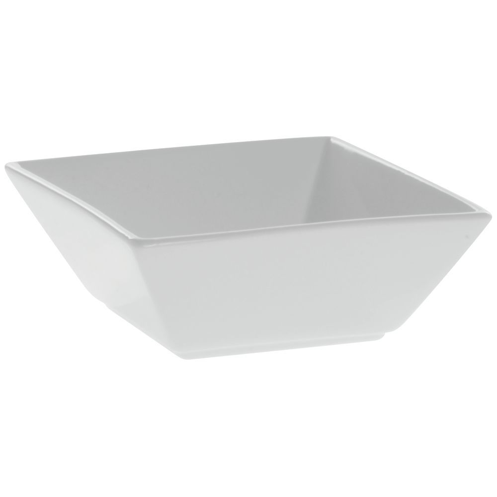 sc 1 st  Hubert.com & Front Of The House Kyoto Square Bright White Porcelain Bowl - 5 1/2Sq