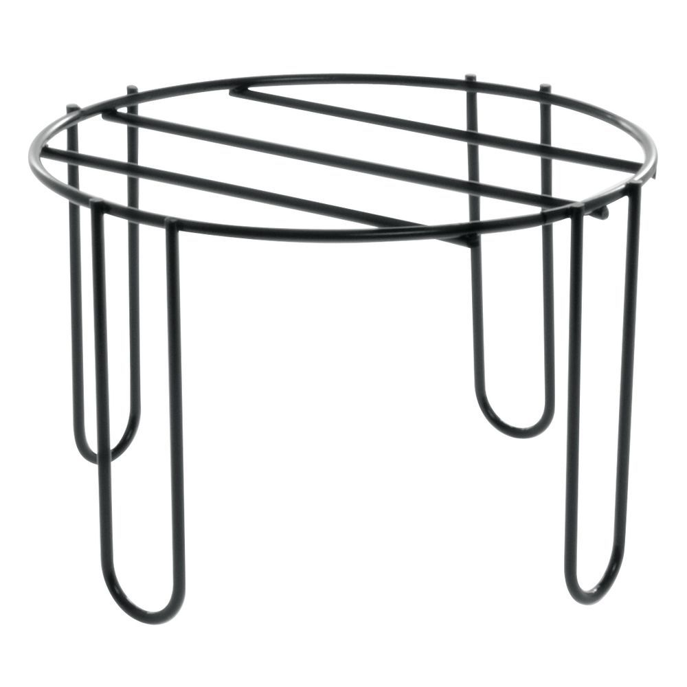 expressly hubert u00ae round black wire buffet riser