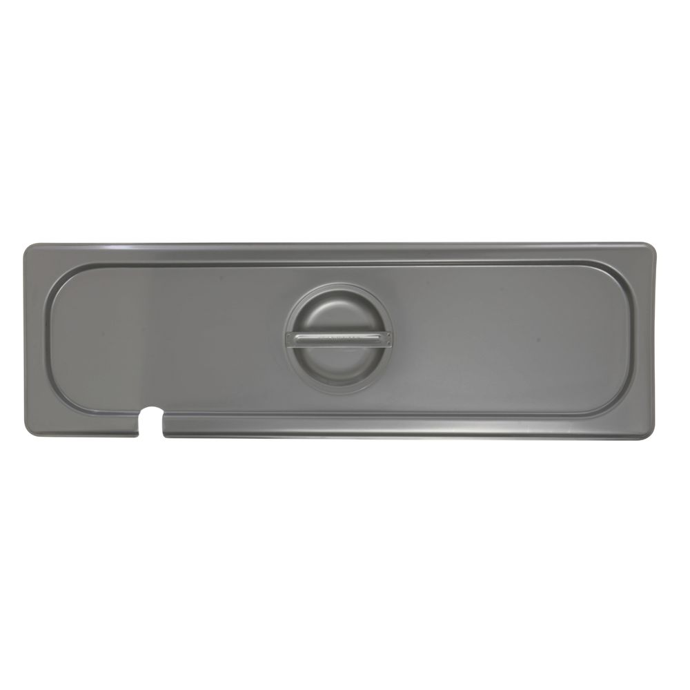 Stainless Steel Steam Pan Lid is Slotted