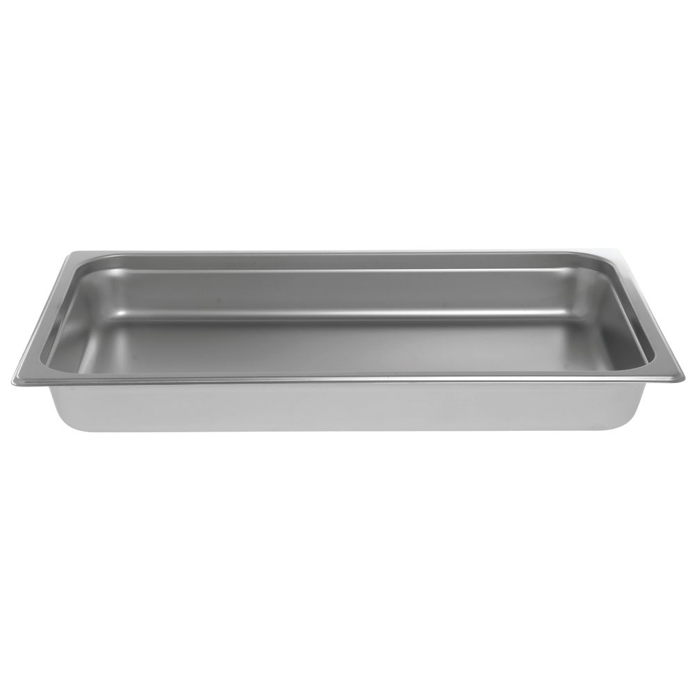 "Stainless Steel Food Pan with Elegant Mirror Finish|Stainless Steel Food Pan with Elegant Mirror Finish|HUBERT® Stainless Steel Steamtable Pan Full Size 2 1/2""D"