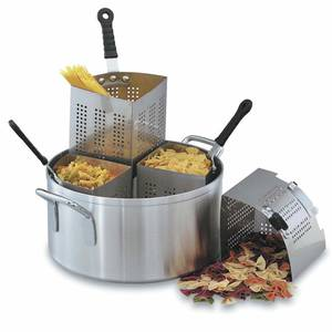 COOKER, PASTA/VEGETABLE, 18.5 QT