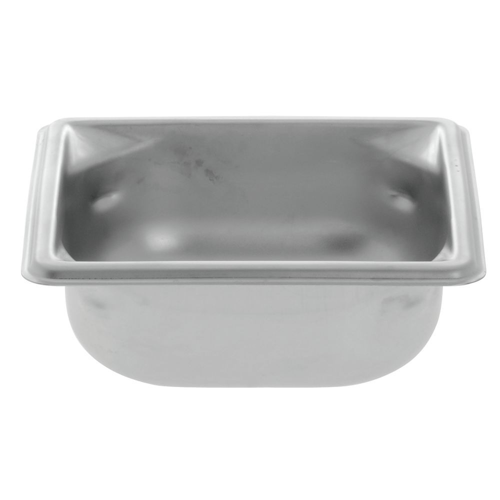 """Vollrath® Super Pan 3® Stainless Steel Pan 1/6 Size 2 1/2""""D"""