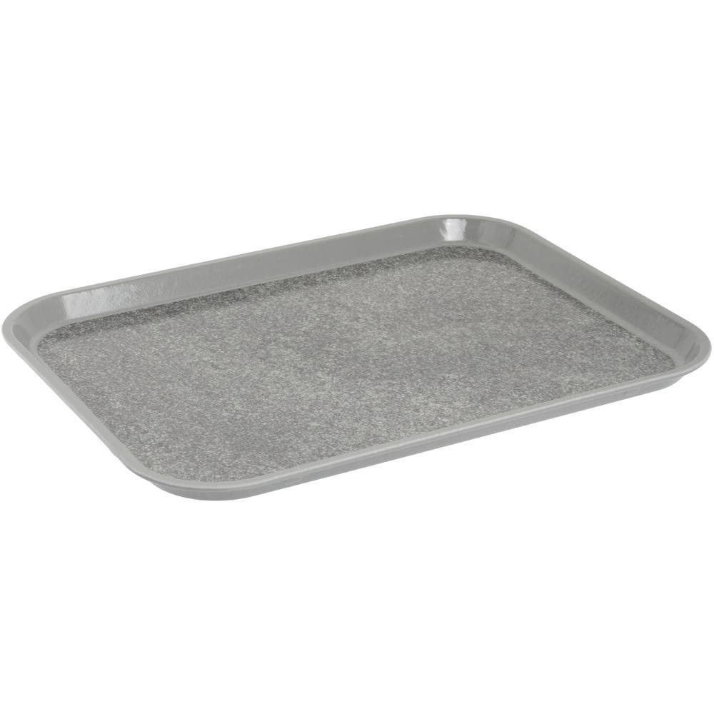 """Cambro Non-Skid Versa Camtray Rectangle Tray in Pearl Gray Fiberglass  18""""L x 14""""W"""