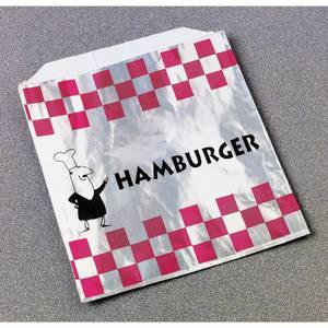 """BAG, FOIL, """"HAMBURGER"""""""