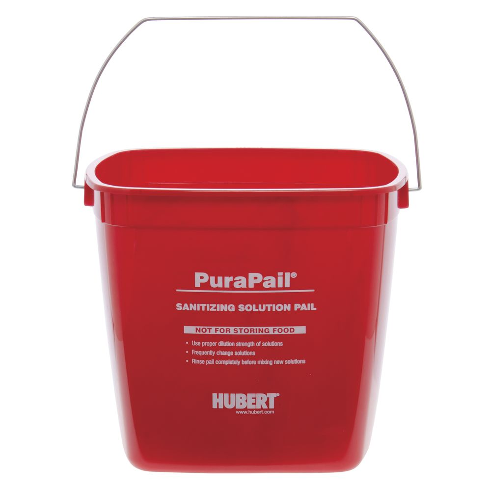 Plastic Buckets Eliminate Confusion and Reduce Cross Contamination