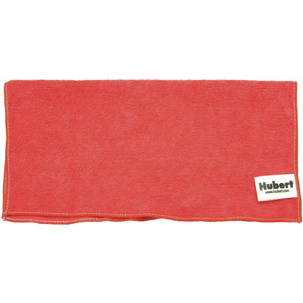 Hubert Plastic Bucket Is 6qt Red For Sanitizing