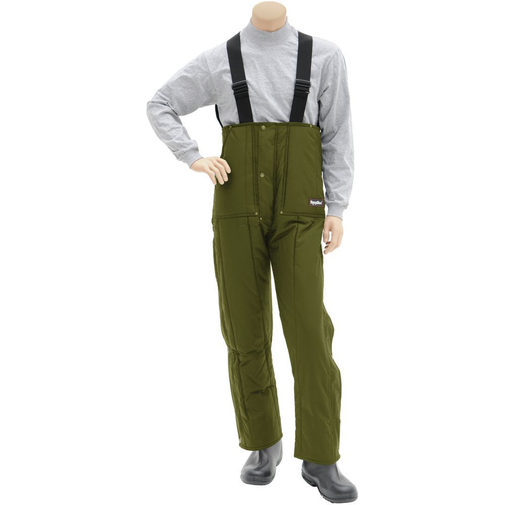TROUSERS, INSULATED, GREEN, 3XL