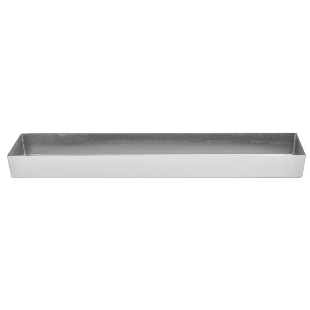 "Expressly Hubert® Stainless Steel Pan 24""L x 6""W x 2""D"