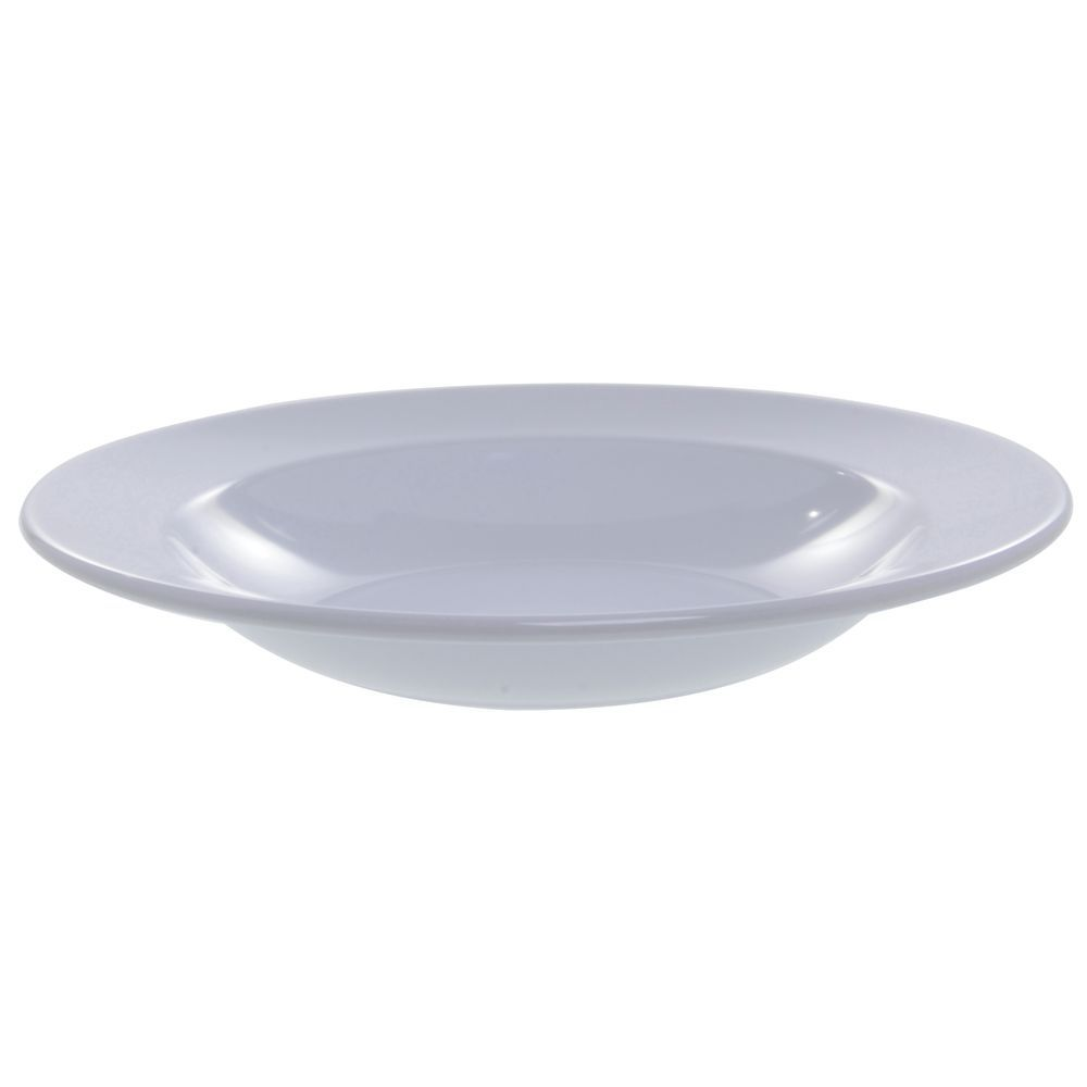 Elite Rio Mid-Rim Pasta or Soup Bowl 24 Oz White Melamine