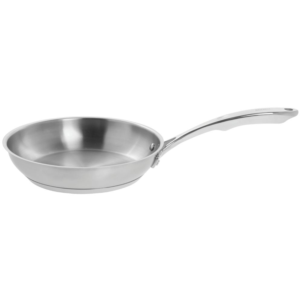 FRY PAN, STAINLESS STEEL, 10""