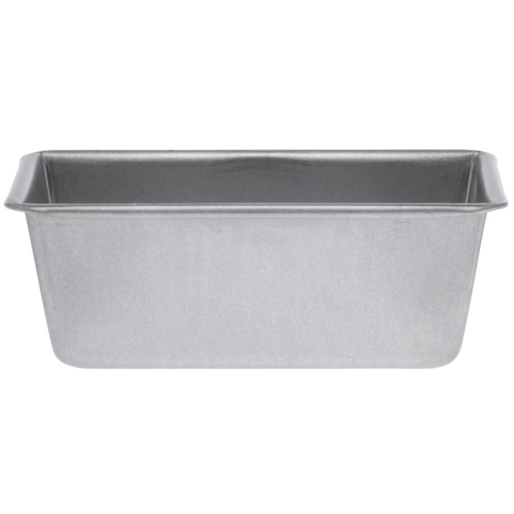 Stainless Steel Bread Pan Bakes One Individual Loaf