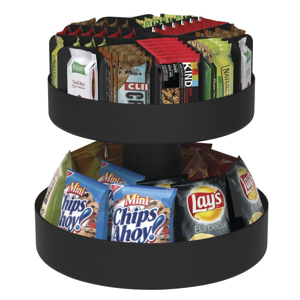 ORGANIZER, CONDIMENT, TWO TIER, ROTATING