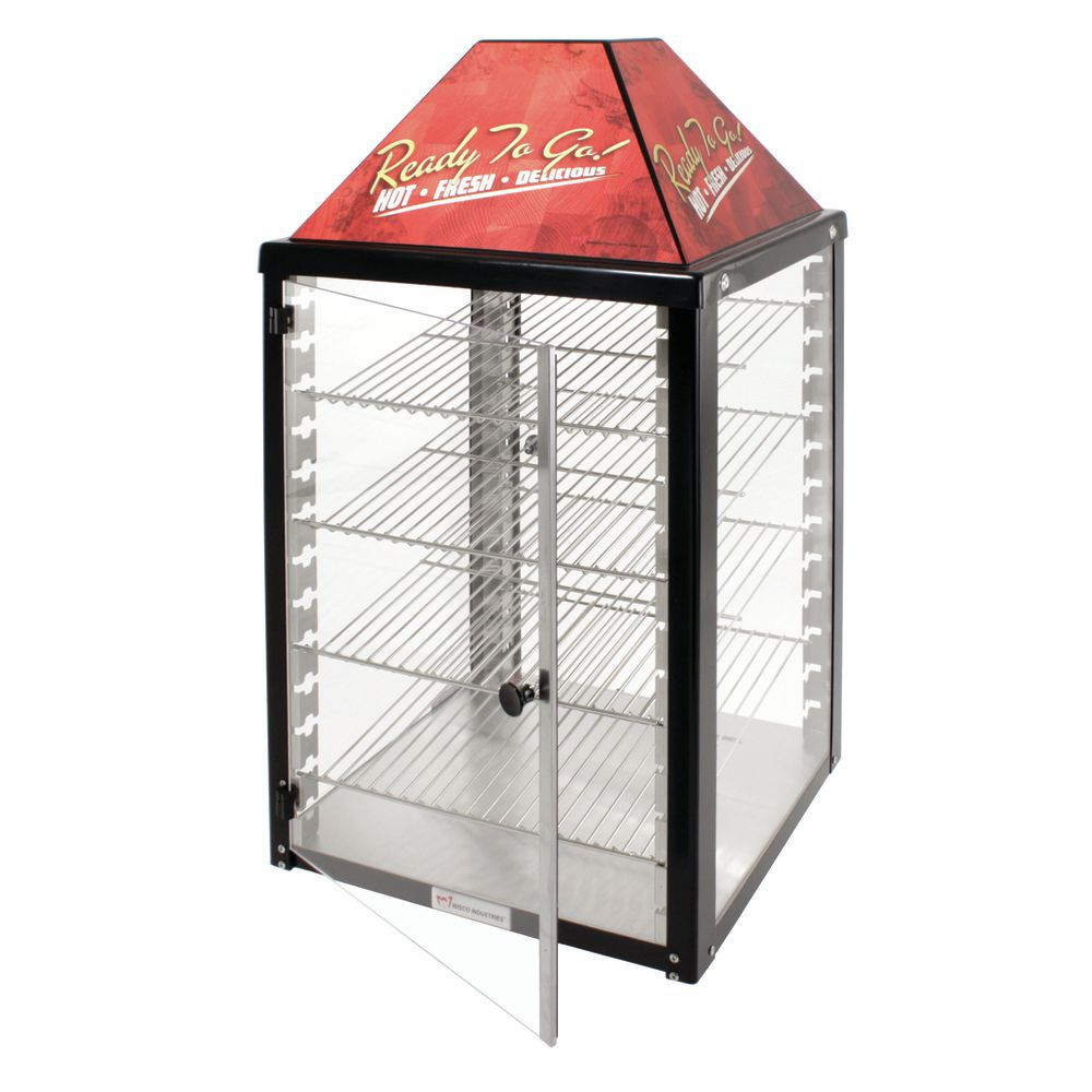 Food Warmer 4 Adjustable Shelves 2 Door Self Serve