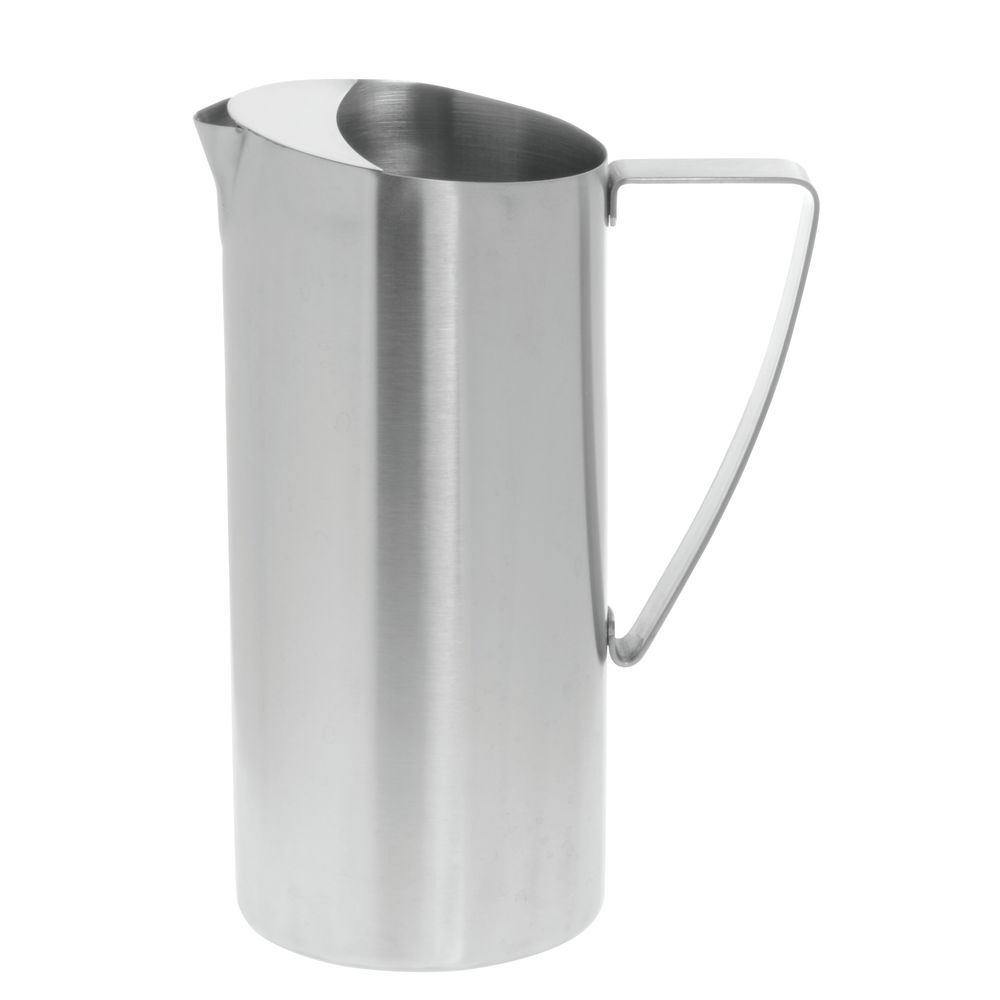 PITCHER, WATER, BRUSHED S/S, W/ICE GUARD