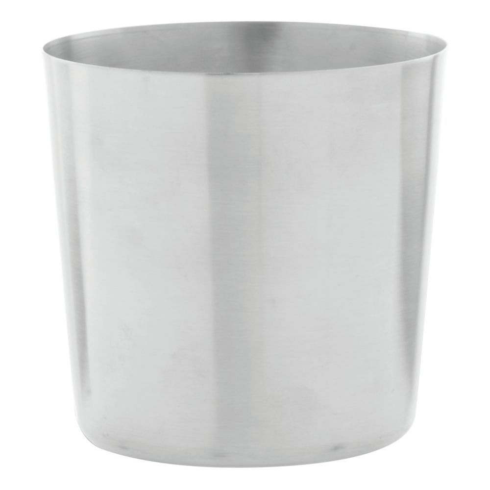 CUP, SATIN, STAINLESS STEEL