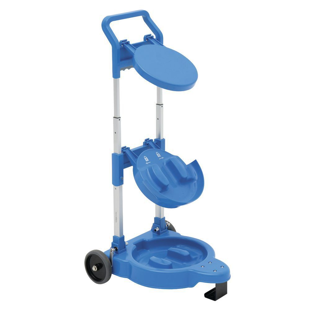 Saf-T-Ice® Ice Tote Cart Holds 2 6-Gallon Totes