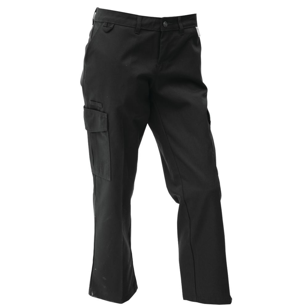 save up to 80% really comfortable beautiful design Dickies® Black Poly Cotton Men's Ultimate Server Cargo Pants - 34
