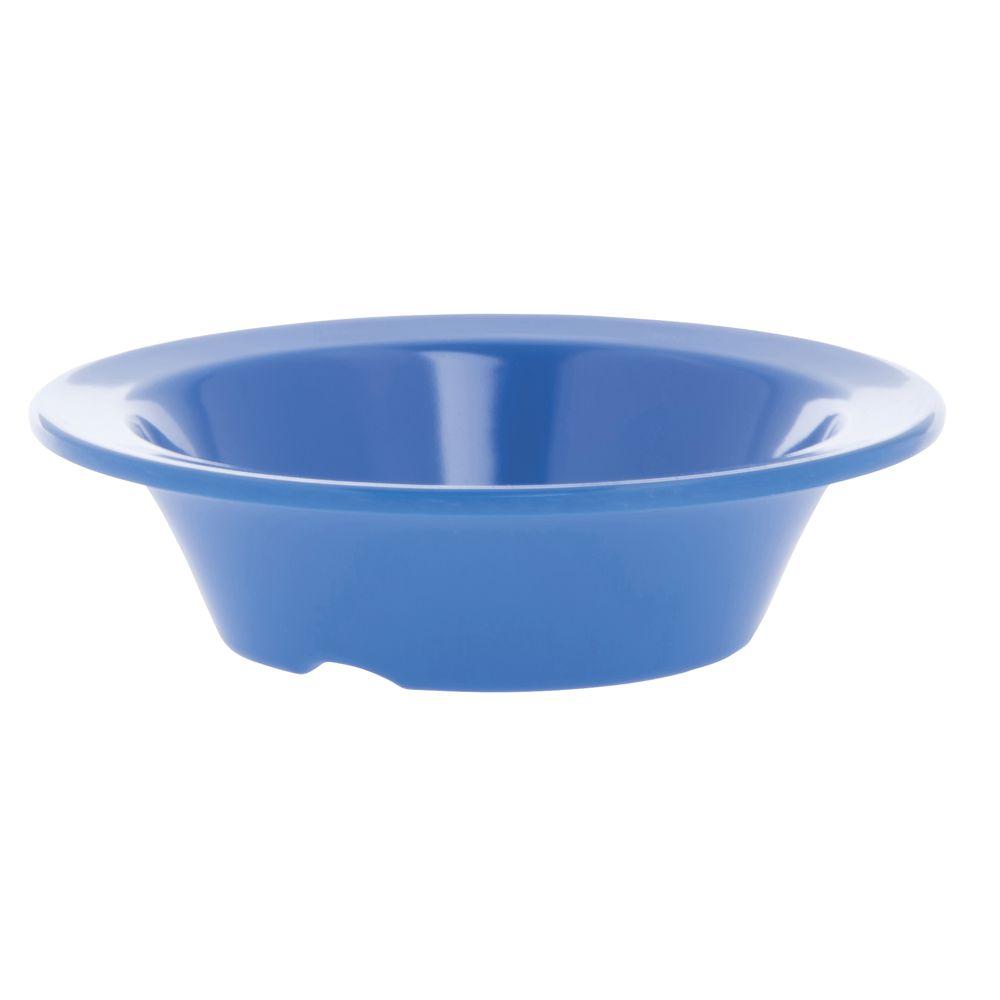 Hubert® Wide Rim Melamine Bowl 4 1/2 Oz Blue