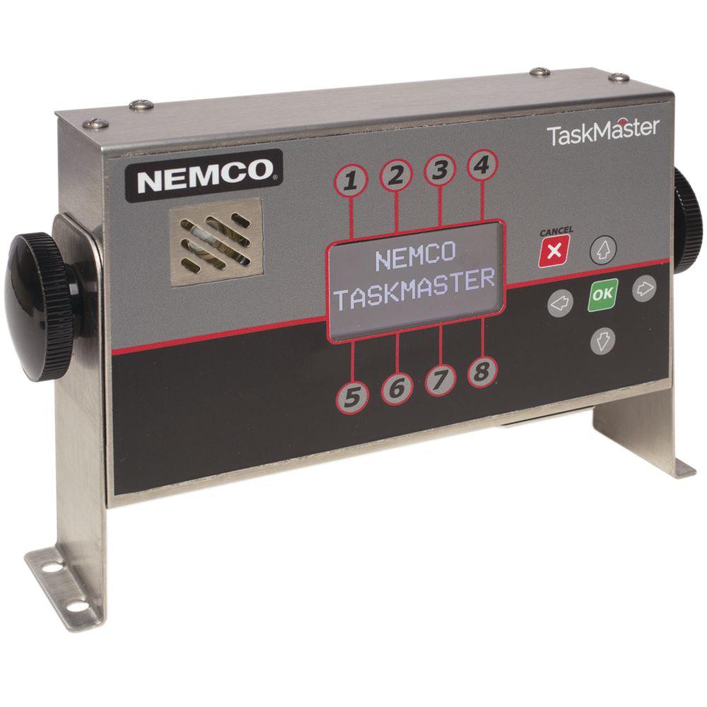 Nemco® TaskMaster™ Timer 8 Channel Single Display