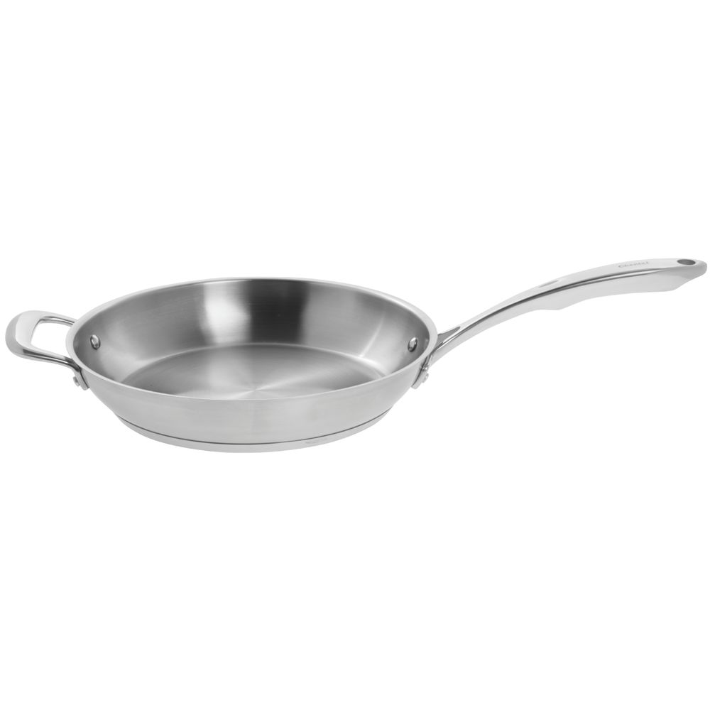 """FRY PAN, STAINLESS, W/HELP HNDL, 11.5"""""""