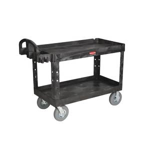 CART, LIP SHELF, BLACK, 55X26X33.25