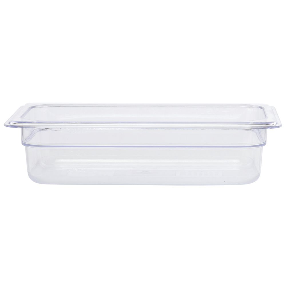 "PAN, COLD FOOD, GASTRONORM 1/4, 2.5""D, 1.8QT"