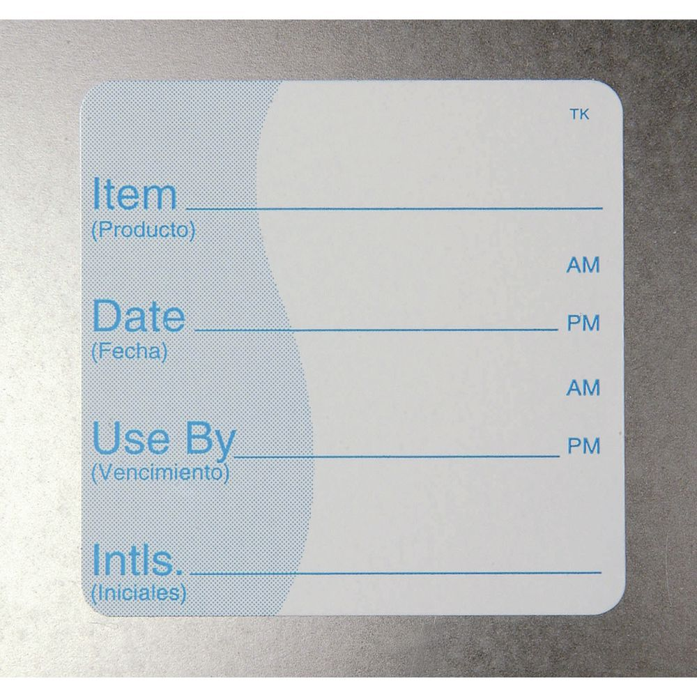 "ToughMark Repositional Use By Labels 2""L x 2""H"