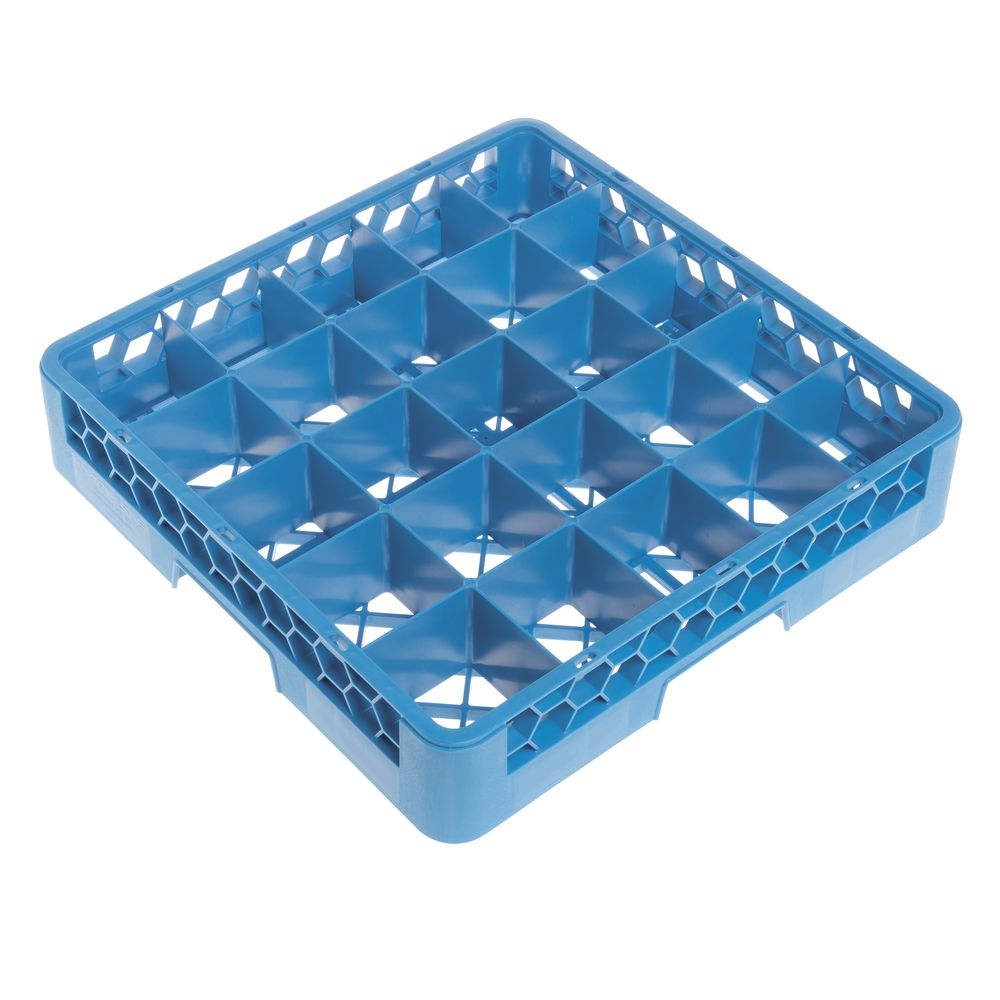 RACK, GLASS, DISHWASHER, BLUE, 25 COMP