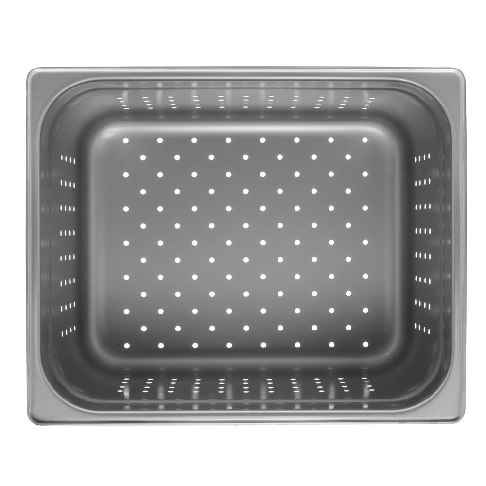 "Hubert® Perforated Steam Table Pan Half Size 6""D