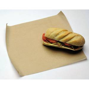 BROWN NATURAL KRAFT SANDWICH WRAP