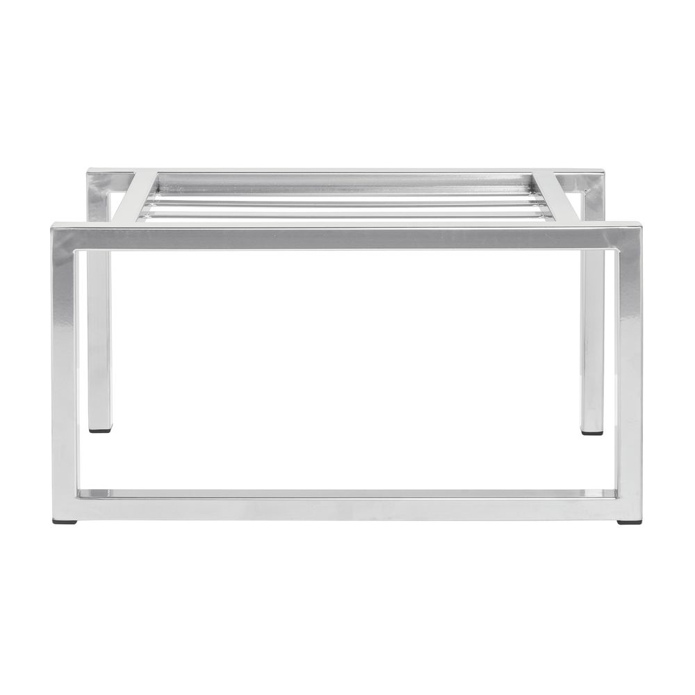 "Expressly Hubert® Display Riser Silver 6""L x 12""W x 9""H"