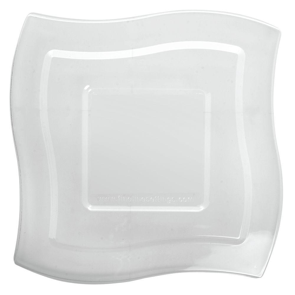 Fineline Settings Wavetrends™ 32 oz Bowl Clear Plastic Lid