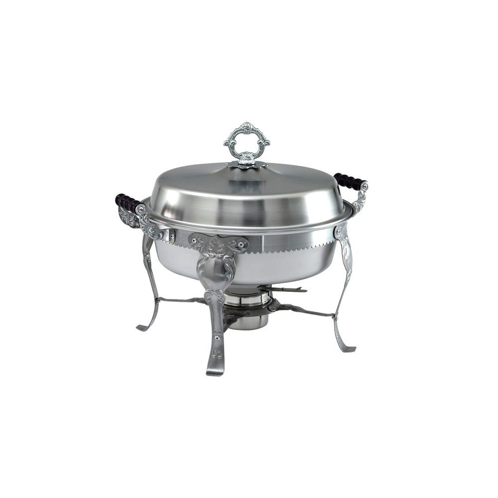 CHAFER-ROUND 6 QT., S/S ROYAL CREST