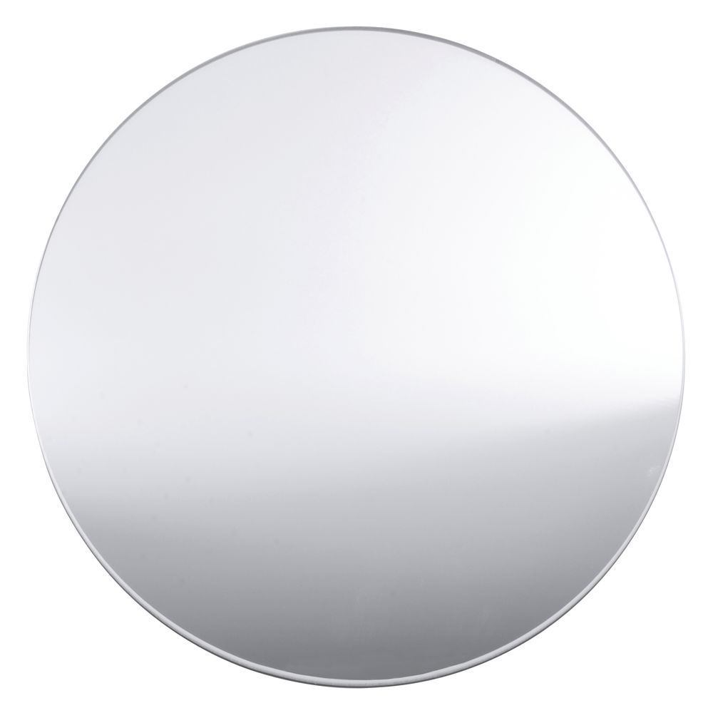 TRAY, ROUND MIRRORED 12""