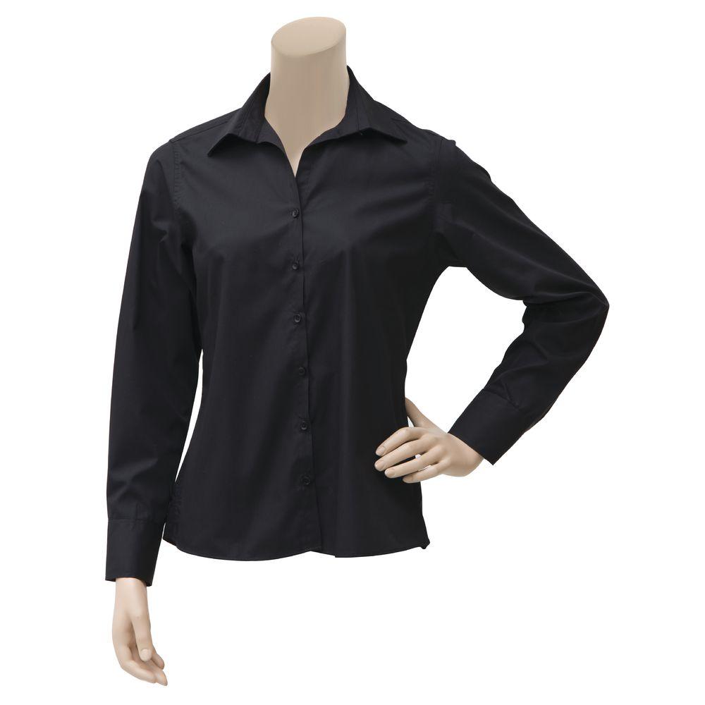 Dexter Chef Revival Black Poly Cotton Womens Long Sleeve Dress
