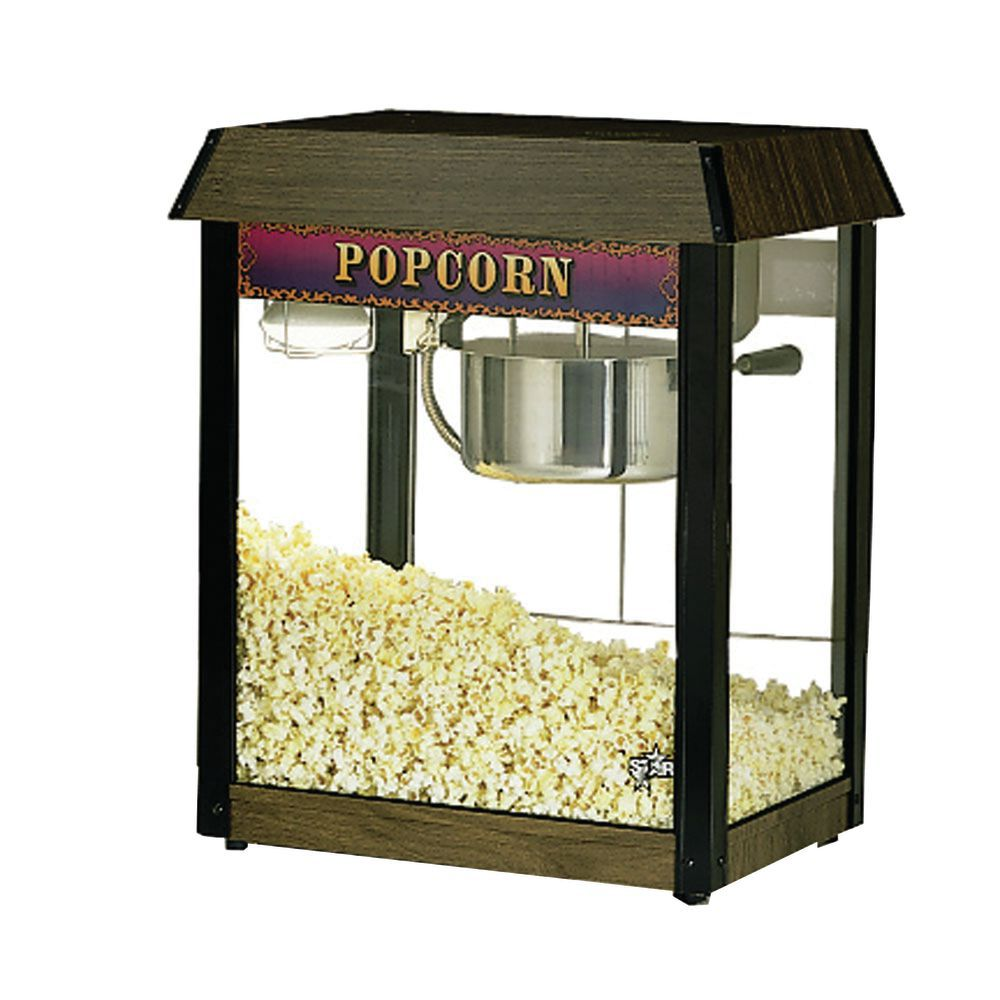 POPPER, POPCORN, 6 OZ, WOODGRAIN