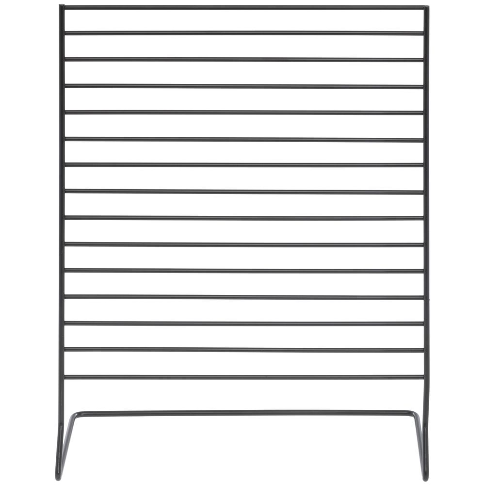 RACK, COUNTER, FOR HOOKS, 12X12, WIRE, BLACK