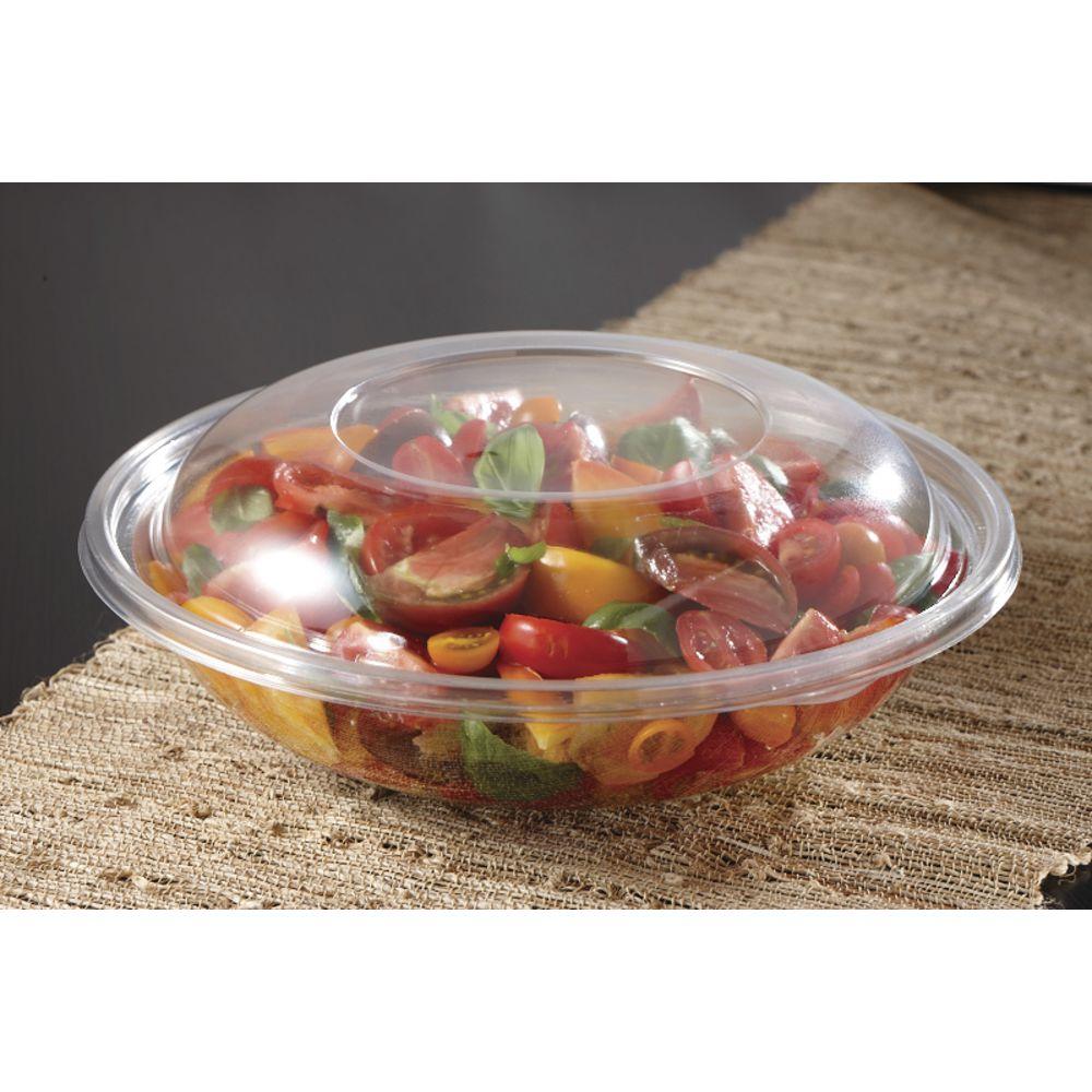 """Clear Plastic Dome Lids  Fit 12 1/4""""Dia Bowls"""