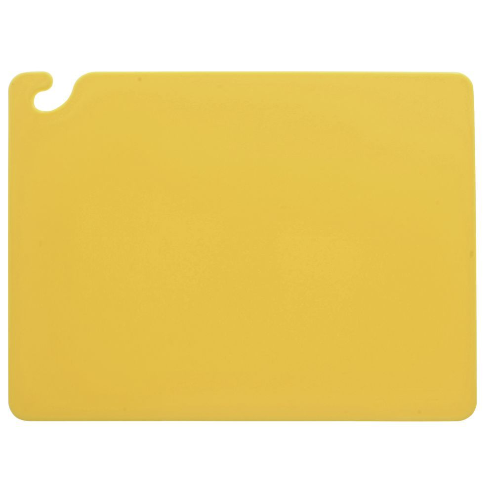 "BOARD, CUTTING POLY 18X24X3/8"" YELLOW HU"